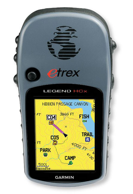 photo: Garmin eTrex Legend HCx handheld gps receiver