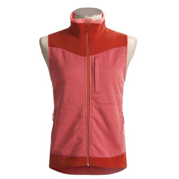 photo: ExOfficio Women's Adventure Seeker Vest fleece vest