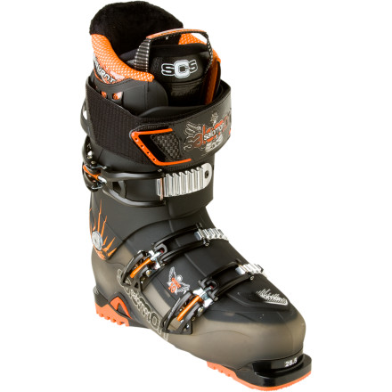 photo: Salomon Quest 10 alpine touring boot