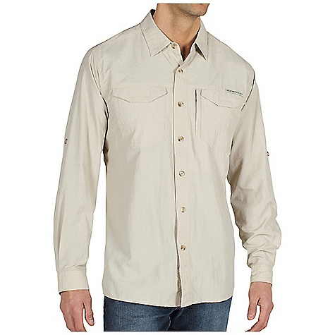 photo: ExOfficio GeoTrek'r Long Sleeve Field Shirt hiking shirt