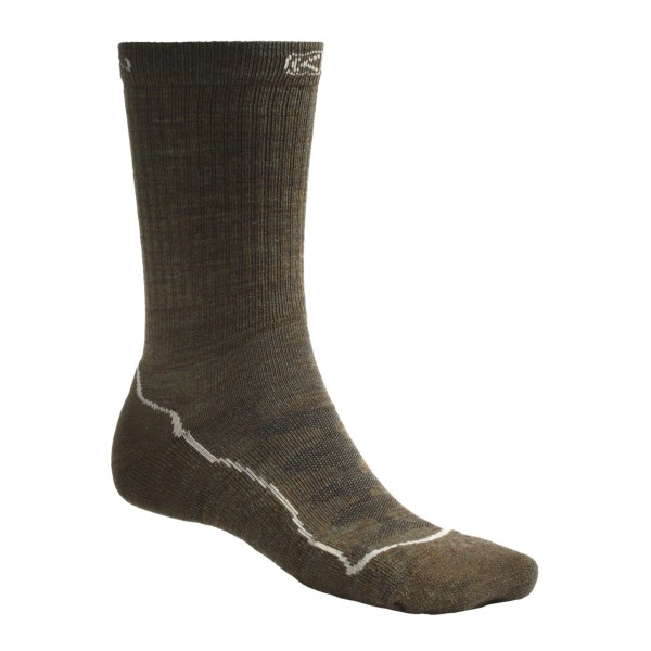 photo: Keen Men's Boulder Canyon Crew Lite Sock hiking/backpacking sock