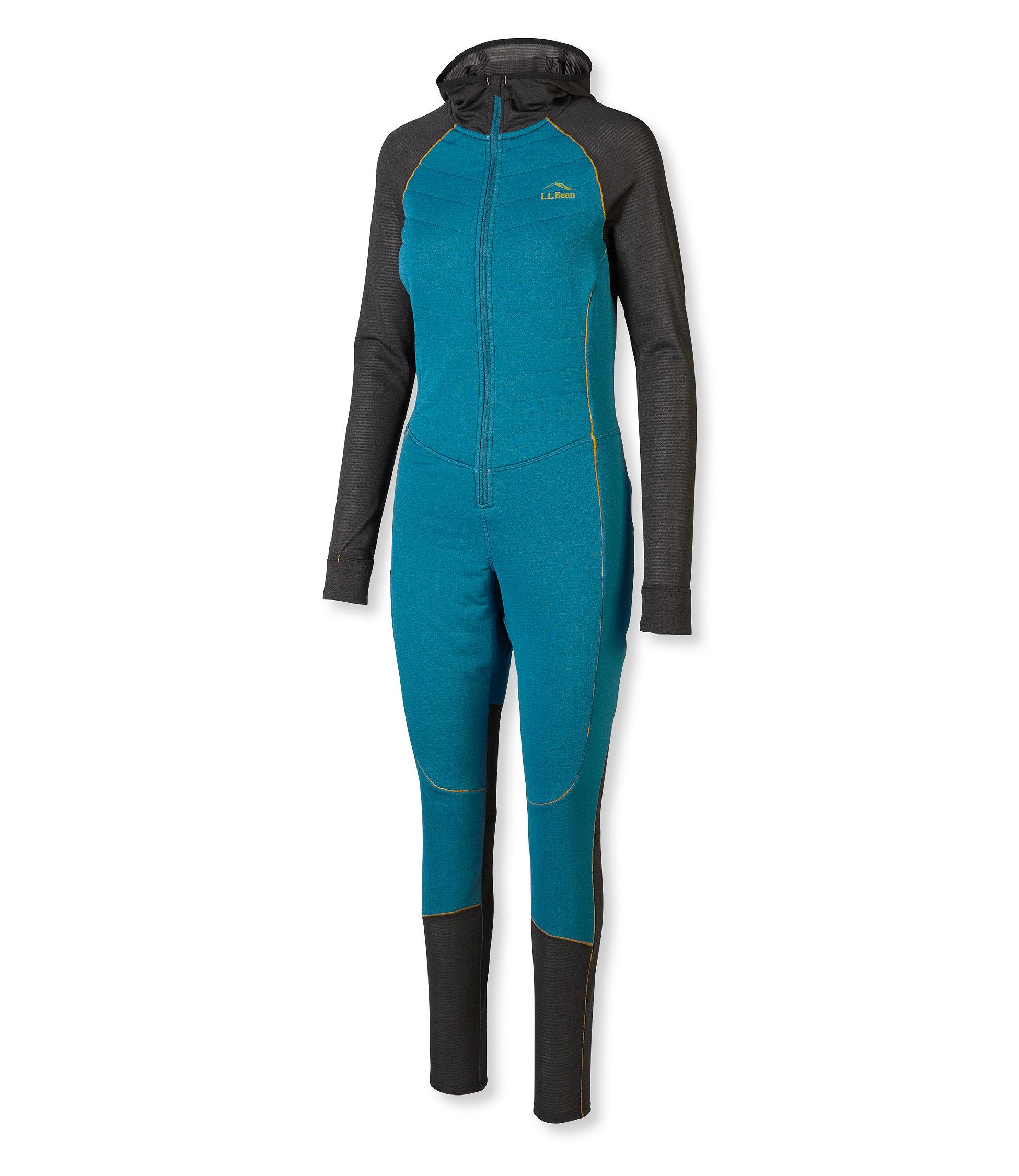 photo: L.L.Bean Alpha Hybrid Union Suit one-piece base layer