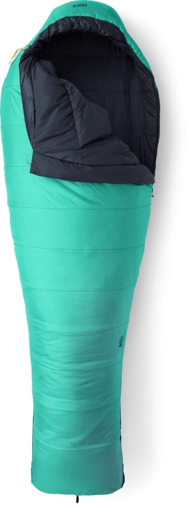 photo: REI Men's Zephyr 20 3-season synthetic sleeping bag