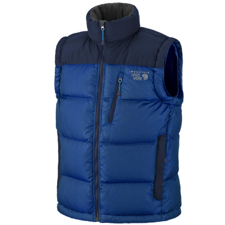 photo: Mountain Hardwear Hunker Down Vest down insulated vest