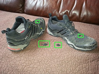 c7c22ea78 Adidas Terrex Fast X GTX Reviews - Trailspace.com. This is a solid  under-ankle trail shoe (less weight that a traditional hiking ...