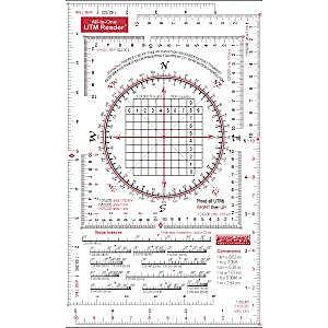 photo: Brooks-Range All-in-One UTM Grid Reader navigation tool