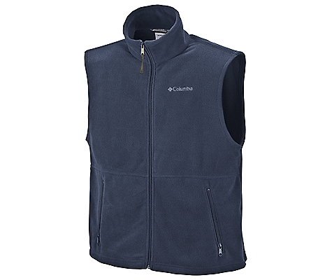 photo: Columbia Men's Cathedral Peak Vest fleece vest