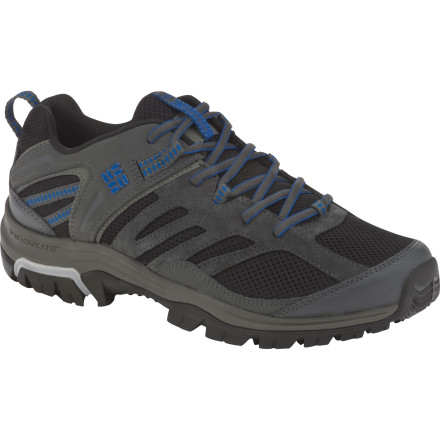 photo: Columbia Shasta Ridge Low Omni-Tech trail shoe