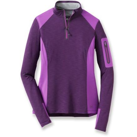 photo: REI Venturi Quarter-Zip Top long sleeve performance top