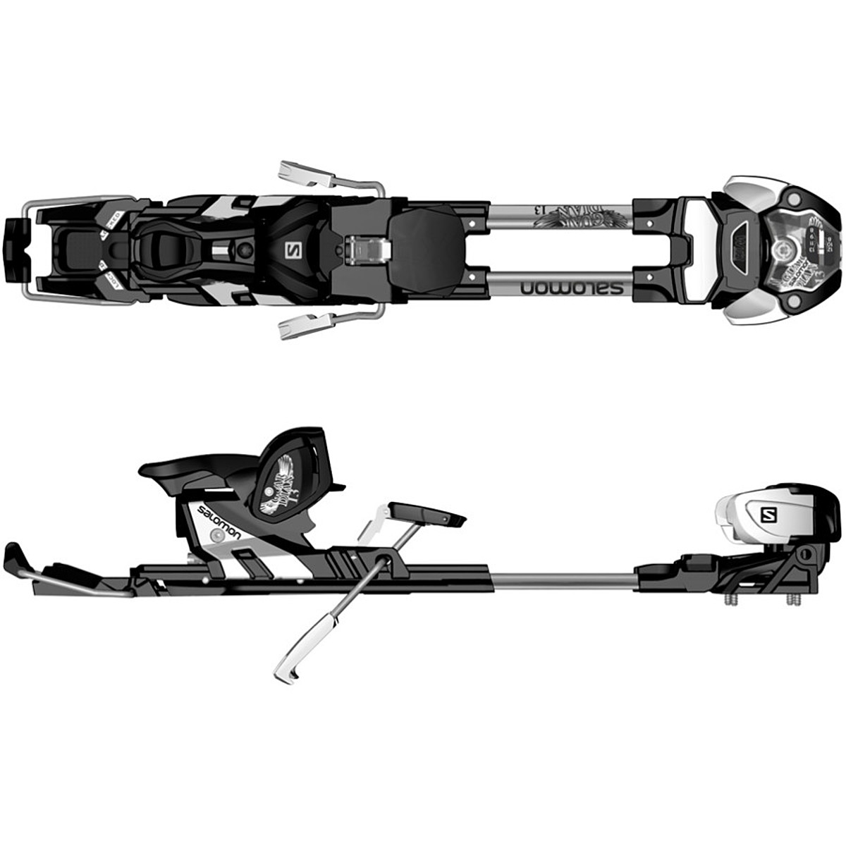 photo: Salomon Guardian WTR 13 alpine touring binding
