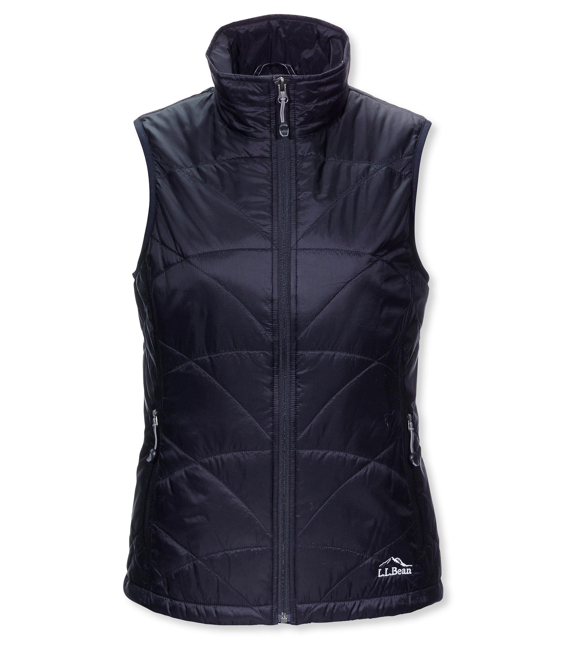 photo: L.L.Bean Women's Ascent Packaway Vest synthetic insulated vest