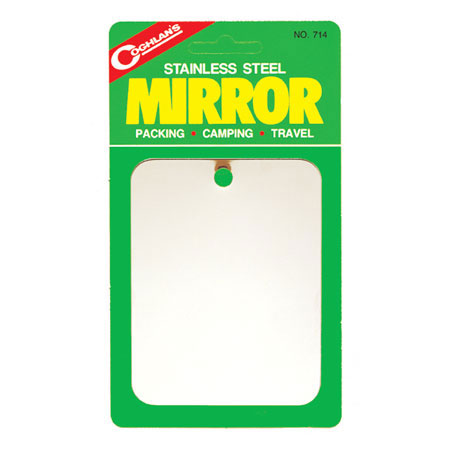 photo: Coghlan's Stainless Steel Mirror signal mirror/flag