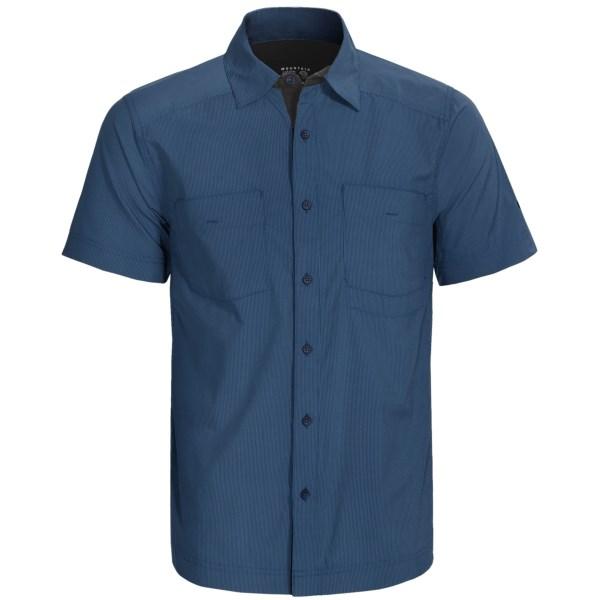 photo: Mountain Hardwear Fergusson Shirt hiking shirt