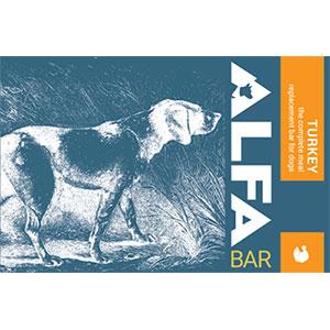 photo of a Alfa Bar dog gear