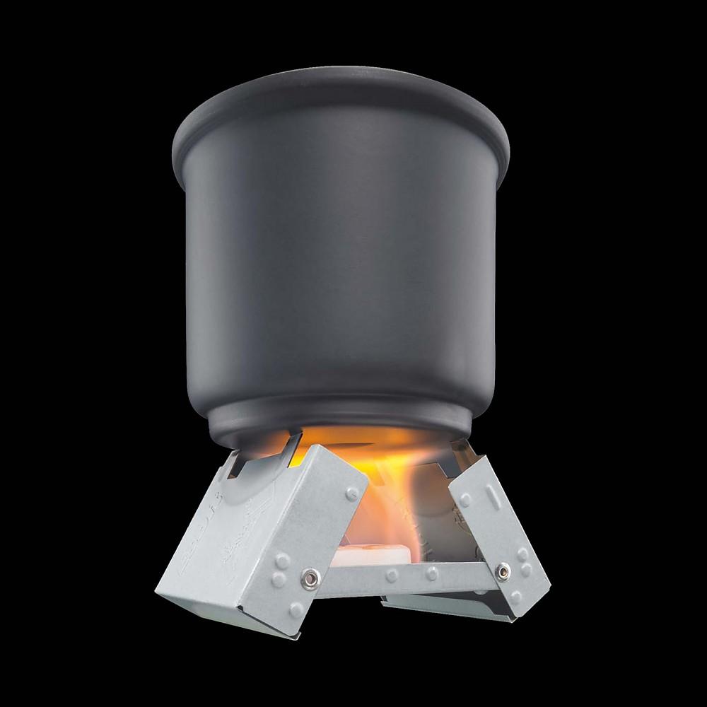 photo: Esbit Pocket Stove solid fuel stove