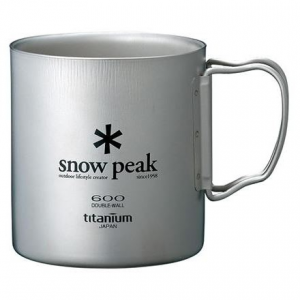 photo: Snow Peak Titanium Double Wall 600 Cup cup/mug