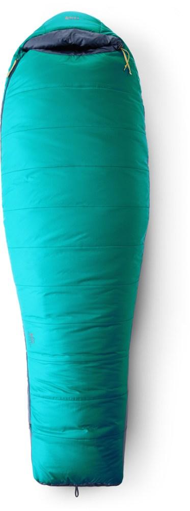 photo: REI Women's Zephyr 20 3-season synthetic sleeping bag