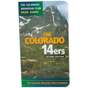 photo of a Colorado Mountain Club Press us mountain states guidebook