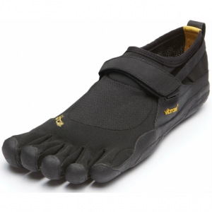 photo of a Vibram trail running shoe