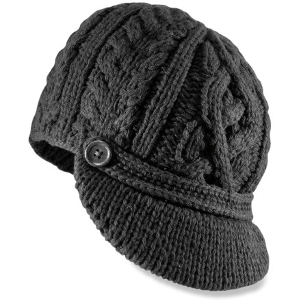 photo: REI PrimaLoft Visor Beanie winter hat