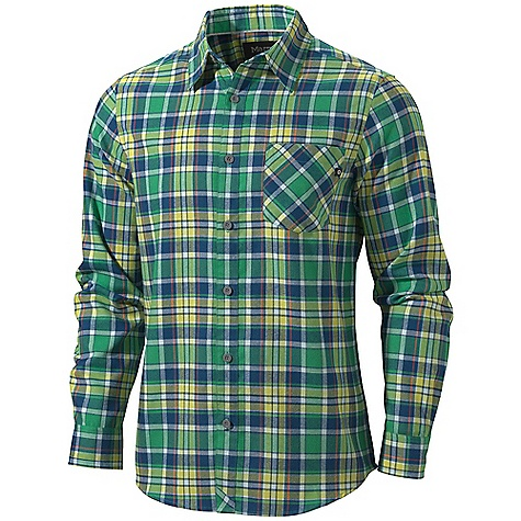 photo: Marmot Cliffs Flannel Shirt hiking shirt