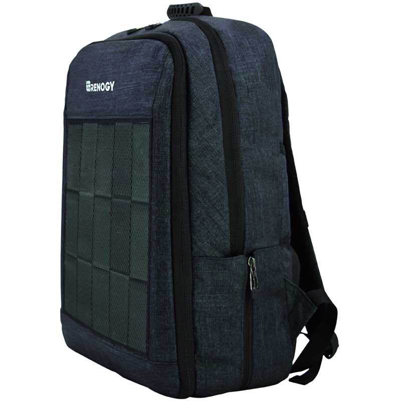 photo: Renogy Solar Backpack daypack (under 2,000 cu in)