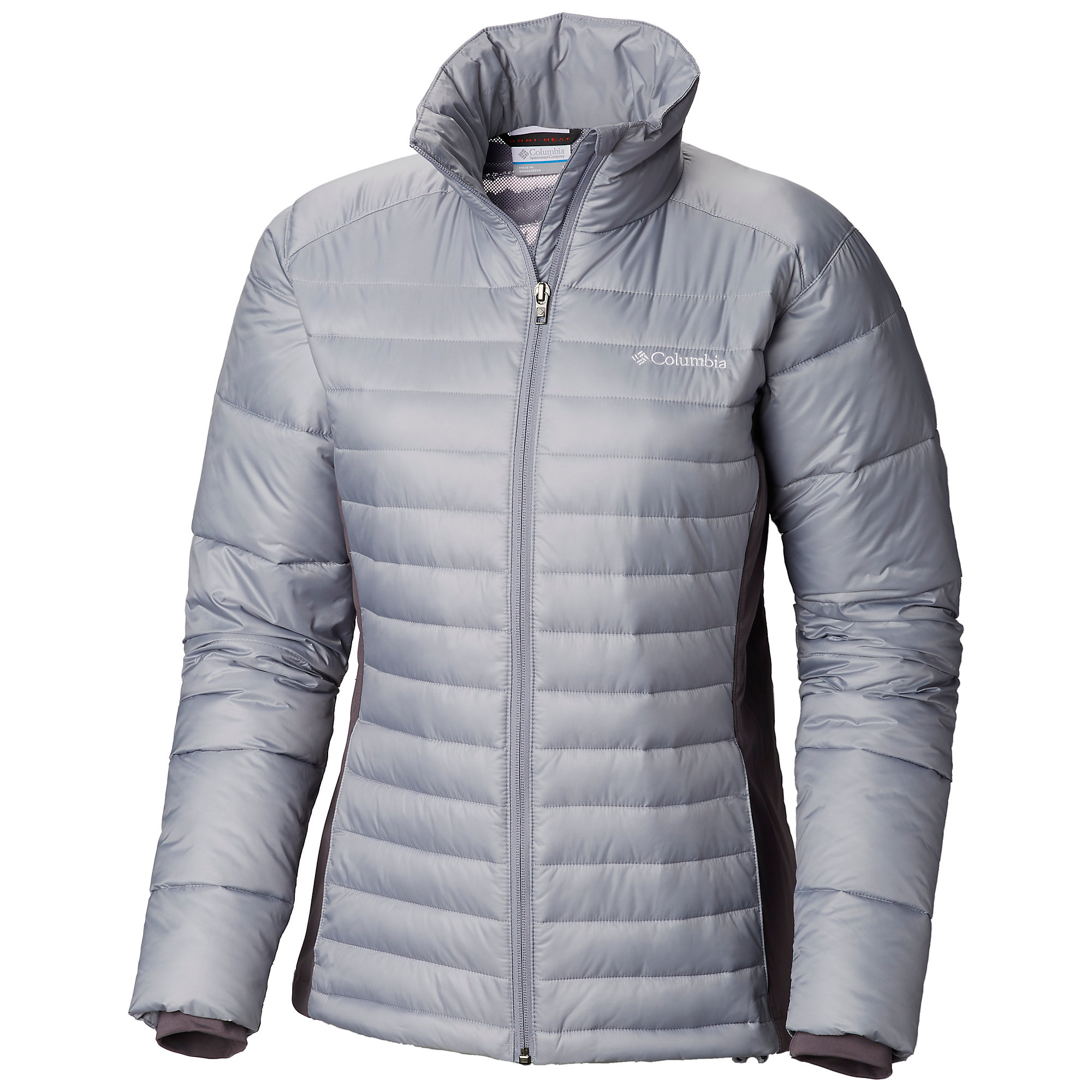 photo: Columbia Powder Pillow Hybrid Jacket synthetic insulated jacket