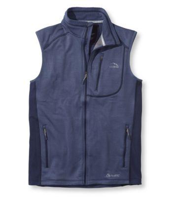 L.L.Bean Polartec Microgrid Vest