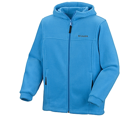photo: Columbia Boys' Steens Mountain Hoodie fleece jacket