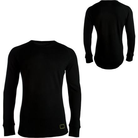 photo: I/O Merino Contact 2 LS Crew base layer top