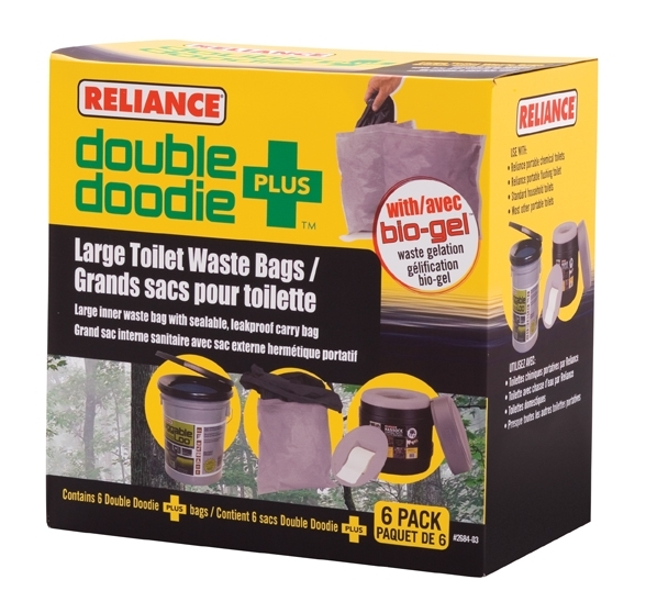 Reliance Double Doodie Plus Bags