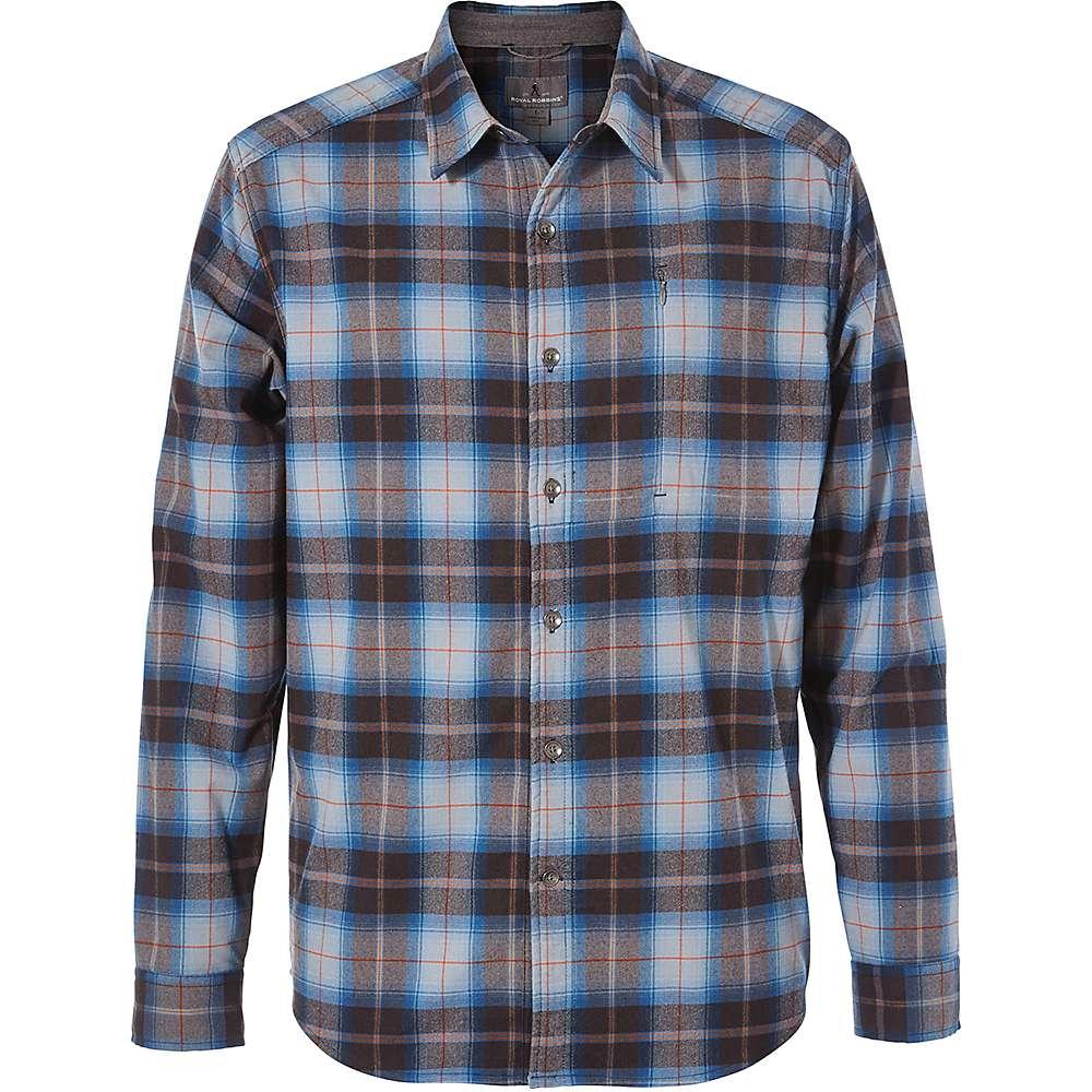 photo: Royal Robbins Men's Merinolux Flannel Long Sleeve Shirt hiking shirt