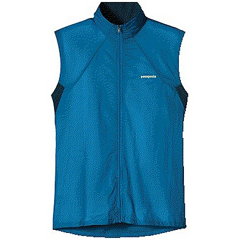 photo: Patagonia Men's Nine Trails Vest wind shell vest