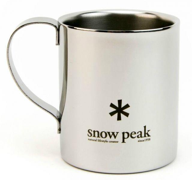 Snow Peak Stainless Double 330 Mug