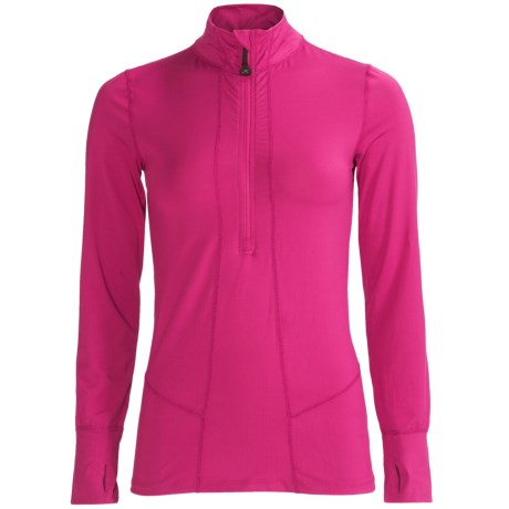 photo: Terramar Hot Totties Cloud Nine Half Zip Shirt base layer top
