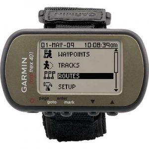 photo: Garmin Foretrex 401 handheld gps receiver