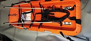 photo: Ed's Wilderness Systems Backcountry Outfit sled/pulk