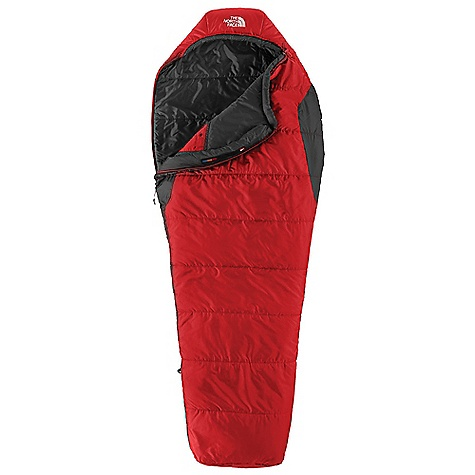 photo: The North Face Aleutian 1S 55 warm weather synthetic sleeping bag