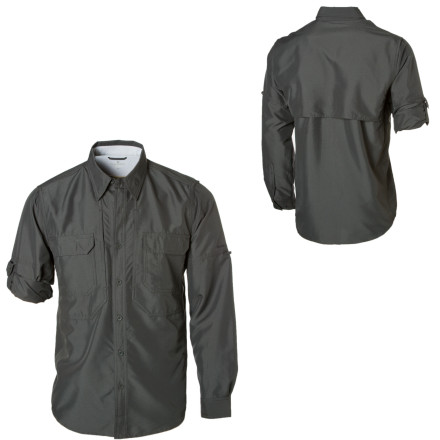 photo: Royal Robbins Men's Expedition Long Sleeve Shirt hiking shirt