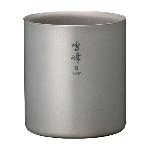 photo: Snow Peak Titanium Stackable Double Wall H450 Cup cup/mug