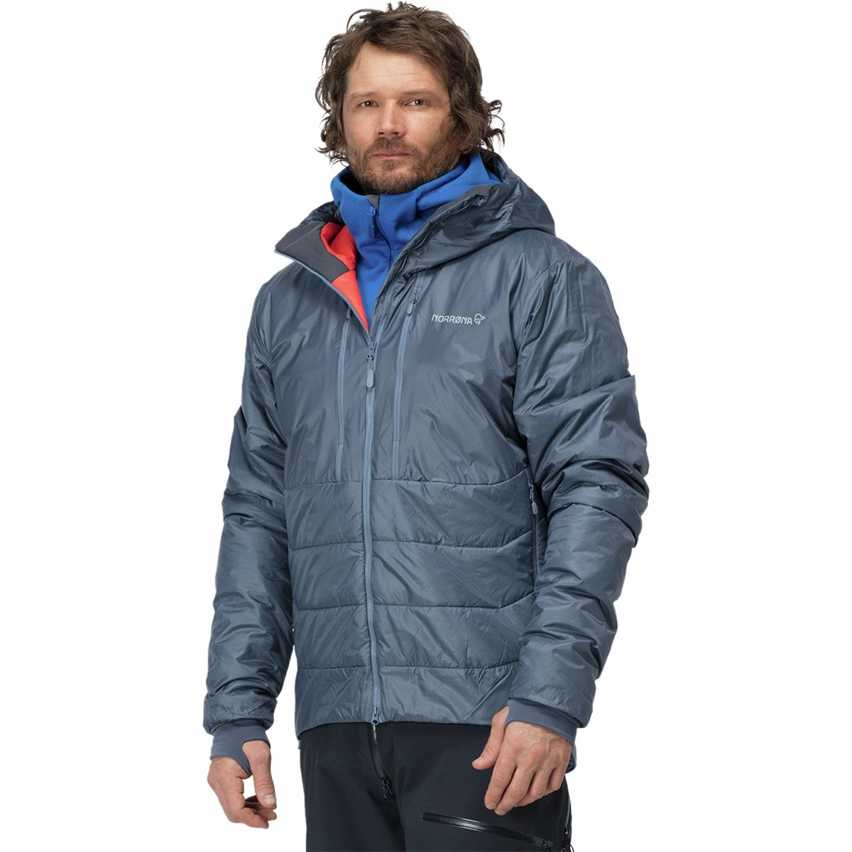 photo: Norrona Trollveggen Primaloft100 Zip Hood synthetic insulated jacket