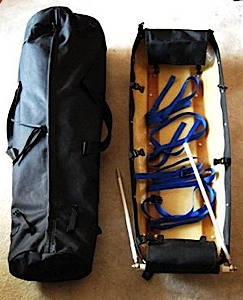 photo: Ed's Wilderness Systems Weekender sled/pulk