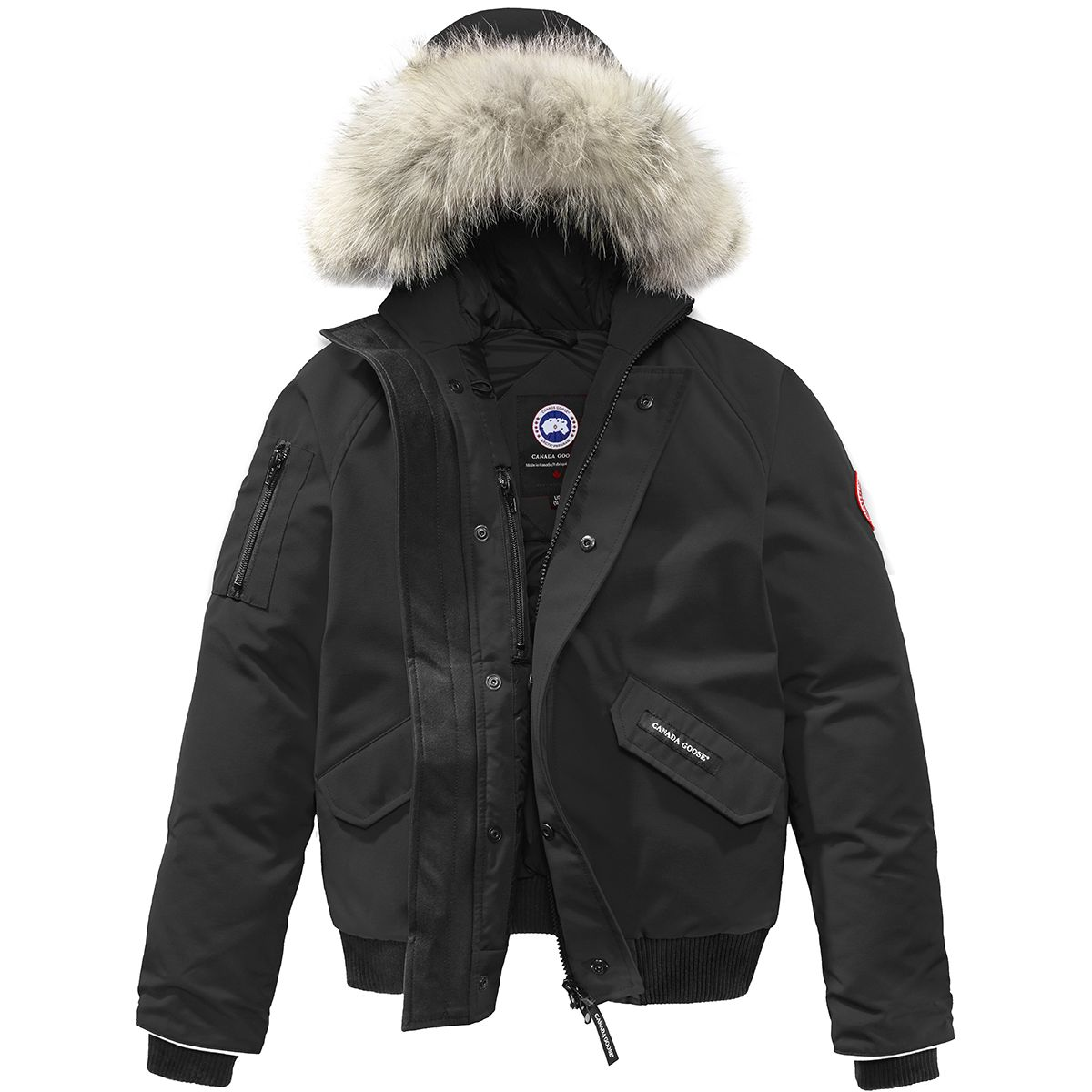 photo: Canada Goose Rundle Bomber down insulated jacket