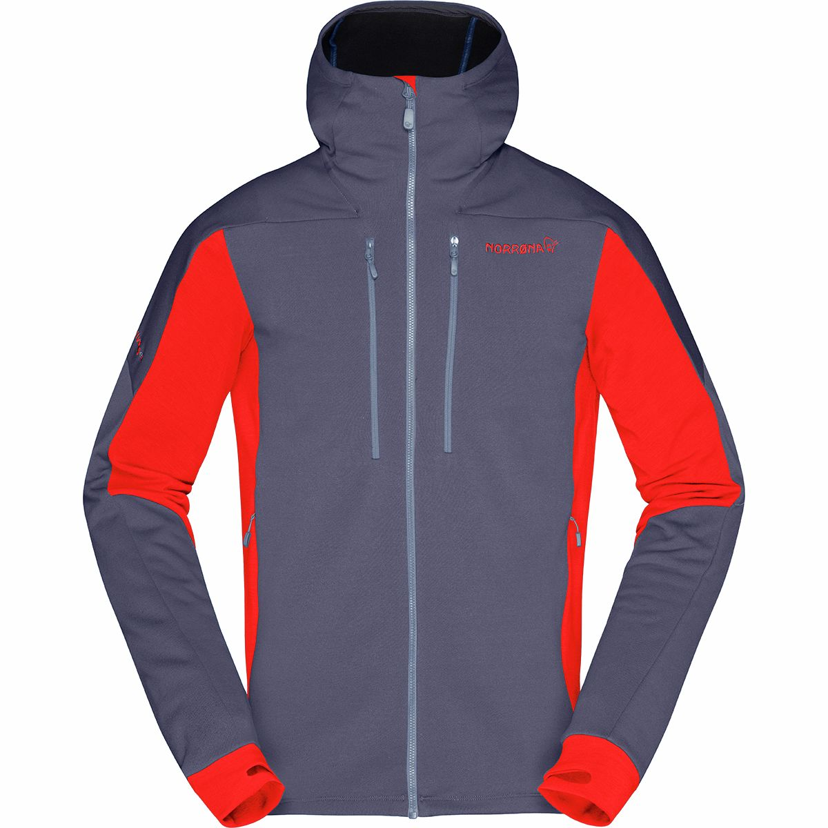 photo: Norrona Men's Trollveggen Powerstretch Pro Zip Hoodie fleece jacket