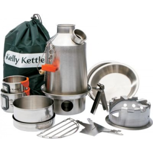 Kelly Kettle Ultimate Stainless Scout Kit