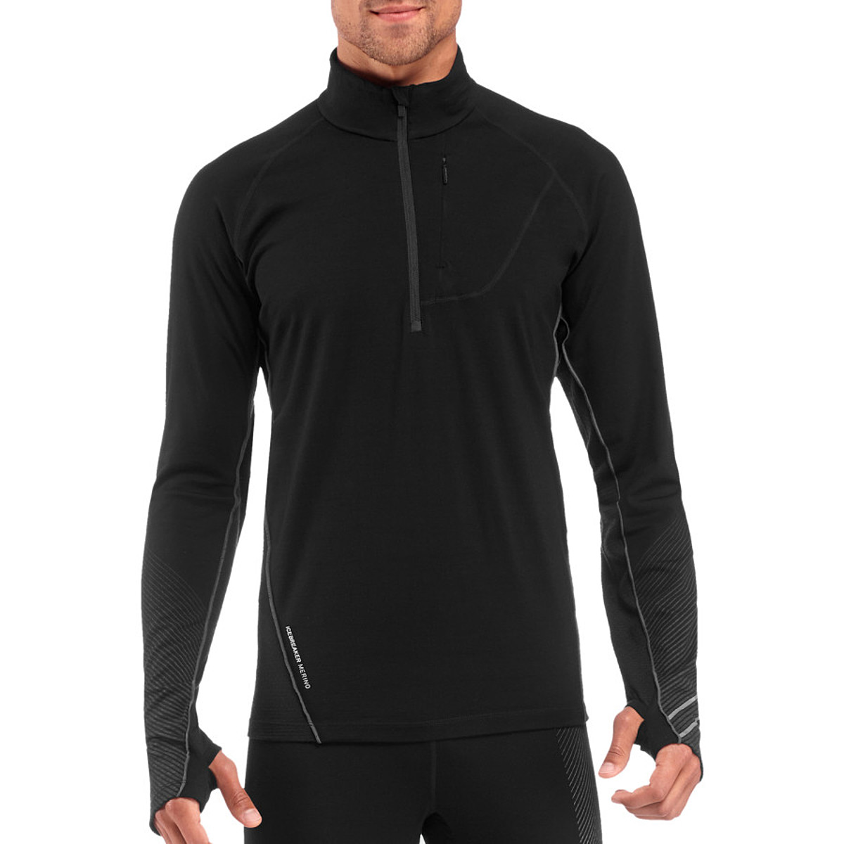 photo: Icebreaker Drive Long Sleeve Half Zip long sleeve performance top