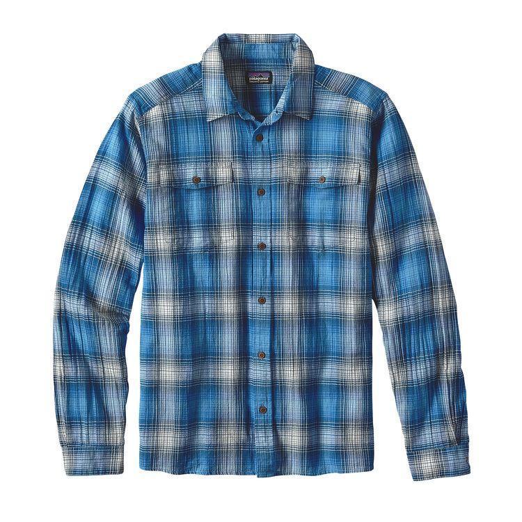 photo: Patagonia Long-Sleeved A/C Steersman Shirt hiking shirt