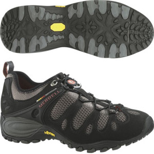 photo: Merrell Chameleon Hex trail shoe