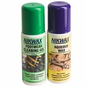 photo: Nikwax DuoPack WWFL footwear cleaner/treatment