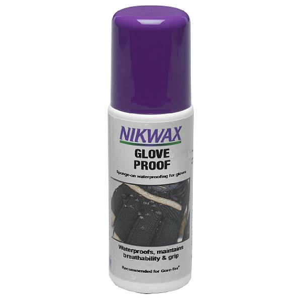 photo: Nikwax Glove Proof fabric cleaner/treatment